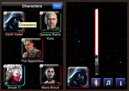 Lightsaber Unleashed sur l'App Store ! Transformez votre iPhone en