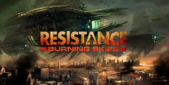 Test Resistance Burning Skies sur PS VITA