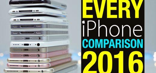 Vidéo comparative de TOUS les iPhones