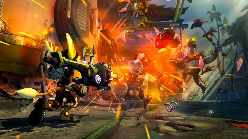 10 images pour Ratchet & Clank : Into the Nexus sur PS3