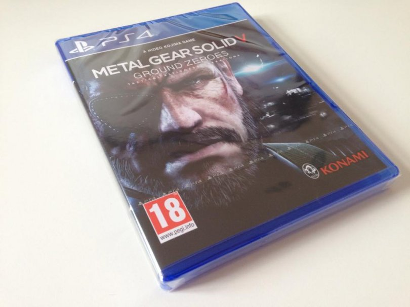 Arrivage : Metal Gear Solid V : Ground Zeroes – Ce que j'en attends