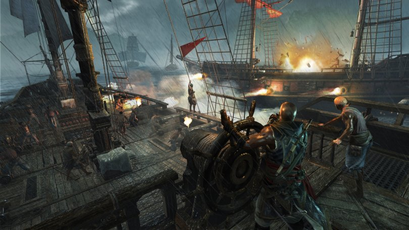Assassin's Creed IV : le Prix de la Liberté se lance aujourd'hui en images et vidéo