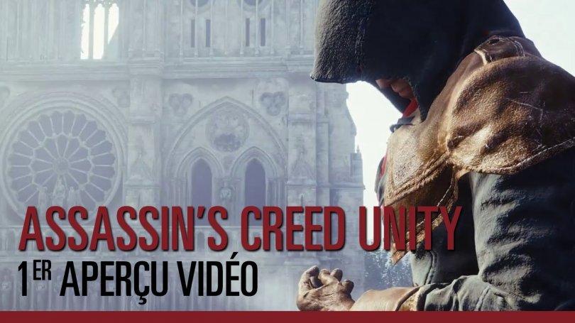Assassin's Creed : Unity – Première vidéo !!!