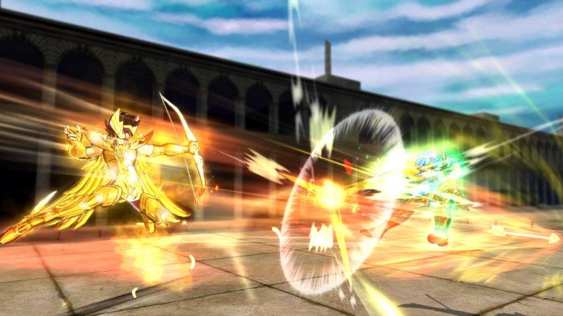 Au fait, Saint Seiya : Brave Soldiers est sorti !