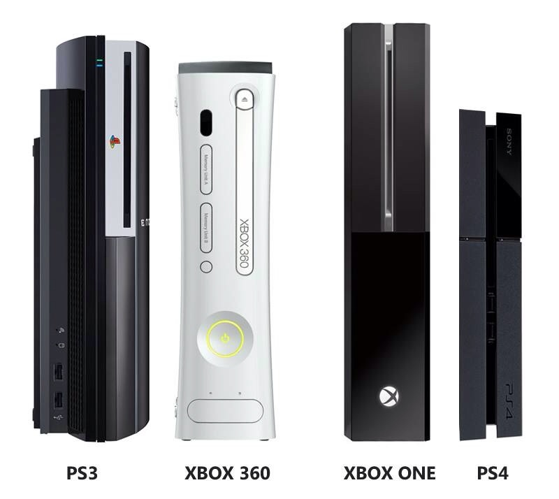 La ps4 est bien plus fine que la ps3 slim - La xbox one lit elle les jeux xbox 360 ...