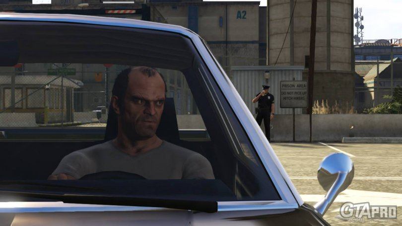 Grand Theft Auto V – La carte dévoilée !
