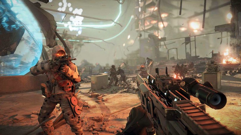 Killzone : Shadow Fall – Pub IRL et vidéo de gameplay en multi