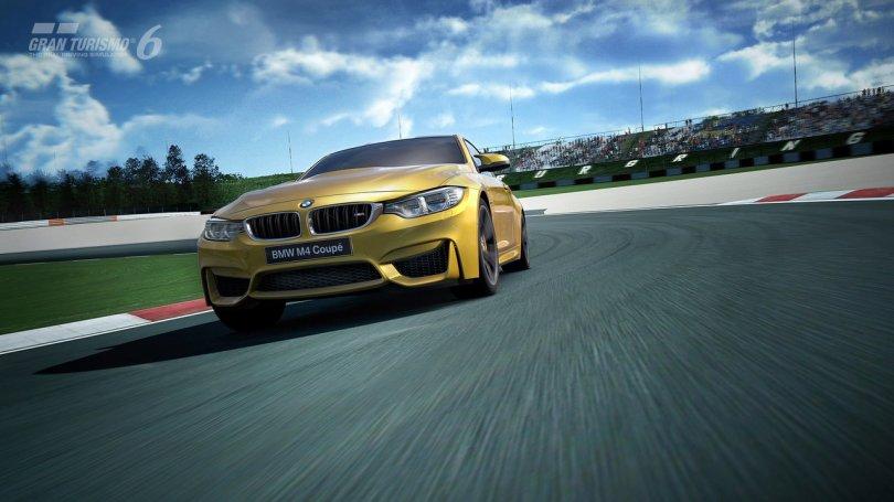 La BMW M4 Coupé dans Gran Turismo 6 sur PS3