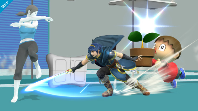 Le nouveau Super Smash Bros accueille Marth