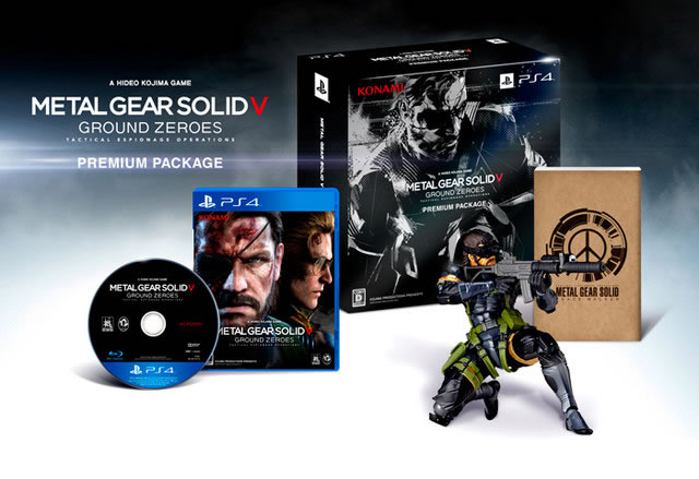 Les éditions collectors de Metal Gear Solid : Ground Zeroes en photos
