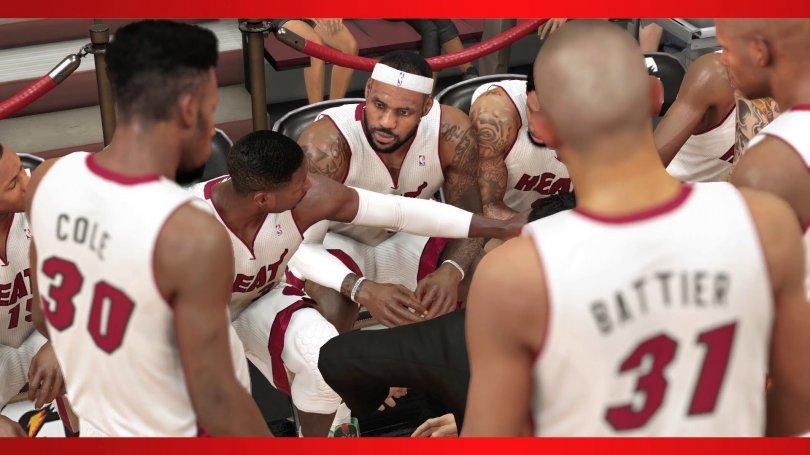 NBA 2K14 en vidéo sur PS4 et Xbox One - Ah ouais quand même