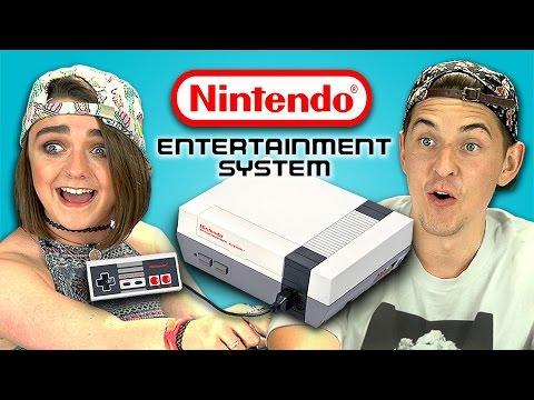 Quand les ados d'aujourd'hui découvrent la NES, c'est... stupéfiant