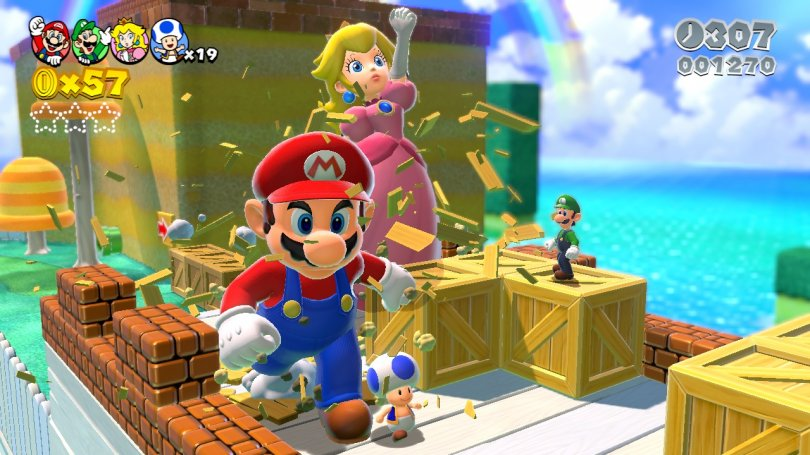 Quelques images et vidéos pour Super Mario 3D World