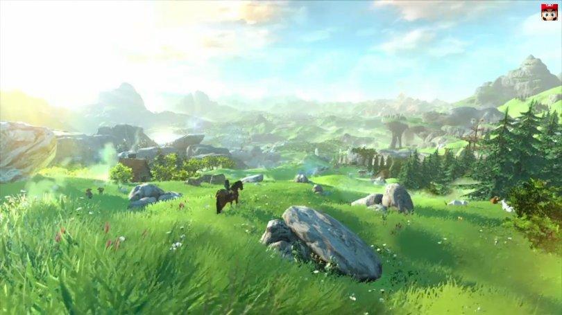 Quelques images tirées du trailer de Zelda sur Wii U