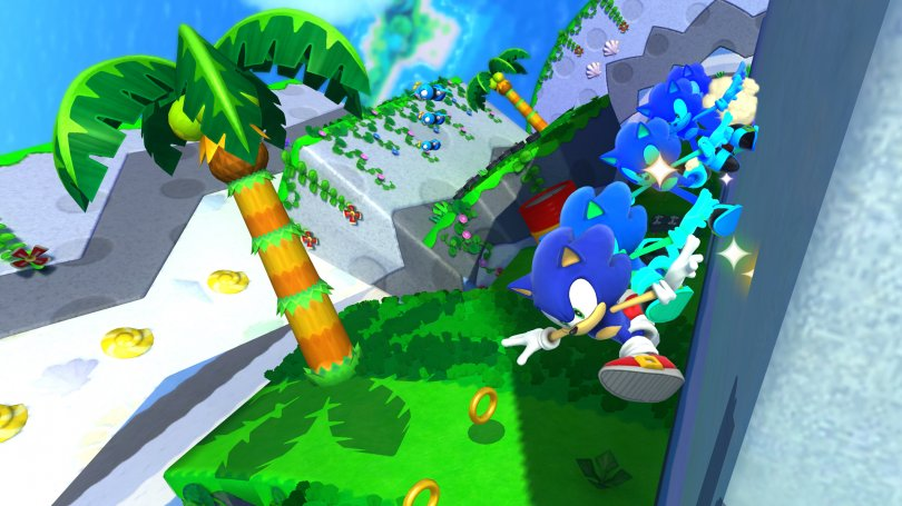 Sonic Lost World fait le beau en image