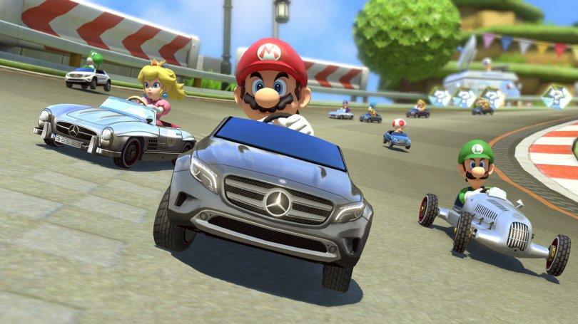 Une mise à jour et un DLC gratuit pour Mario Kart 8