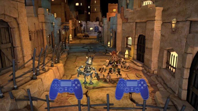 Vidéo du mode coop de Knack sur PS4