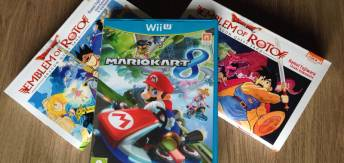 Arrivage de la semaine – Mario Kart 8, God of War Collection et mangas Dragon Quest